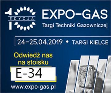 Zaproszenie na EXPO-GAS w Targach Kielce