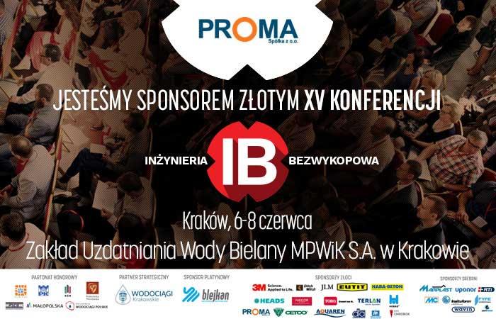 Jesteśmy złotym sponsorem XV Konferencji INŻYNIERIA Bezwykopowa 2017.