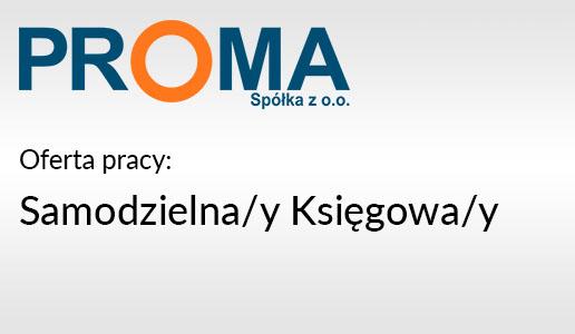 Oferta pracy Samodzielna/y Księgowa/y